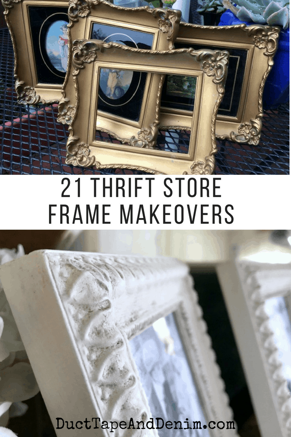21 frame makeovers on DuctTapeAndDenim.com