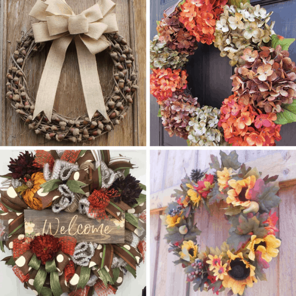 fall wreaths to buy SQUARE