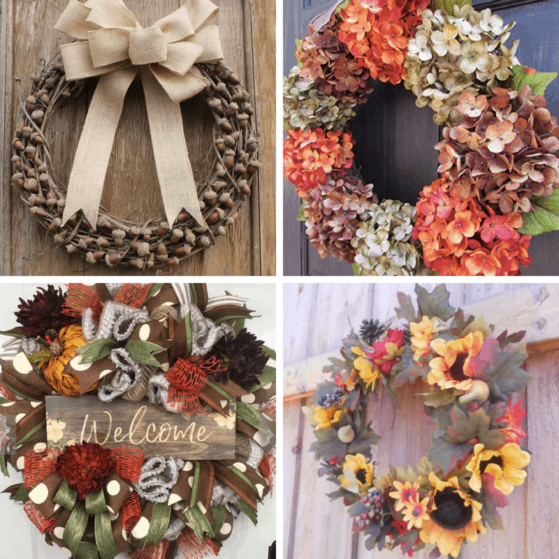 Where To Buy Gorgeous Fall Wreaths For Almost Any Budget