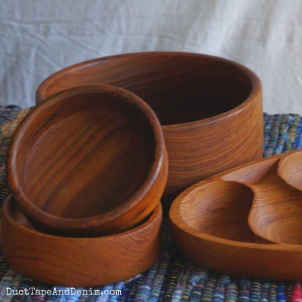 how to restore Wooden Bowls - Finished
