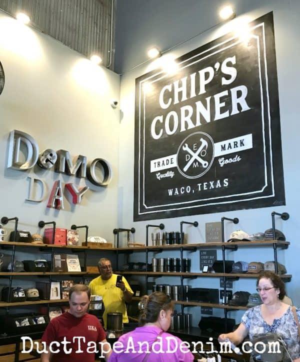 Chip's Corner, Waco, Texas - Inside Magnolia Market | DuctTapeAndDenim.com