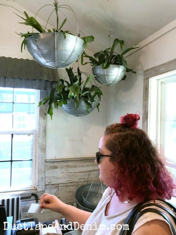 Jo in Magnolia Garden Center Waco TX | DuctTapeAndDenim.com