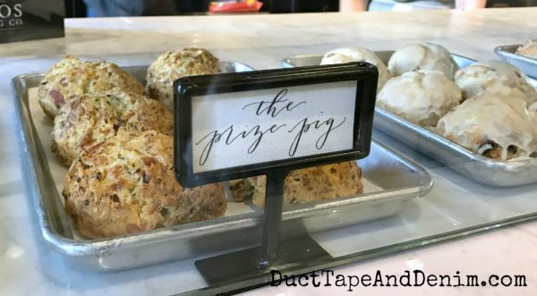 Prize Pig at Magnolia Bakery | DuctTapeAndDenim.com