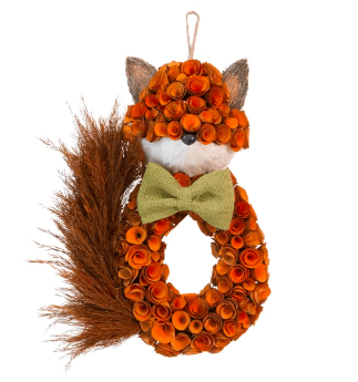fox wreath
