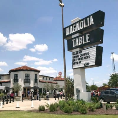 We Didn't Get in to Magnolia Table, the New Magnolia Restaurant in Waco