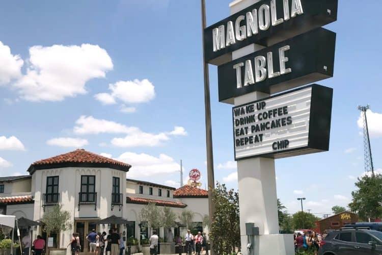 magnolia table SQUARE