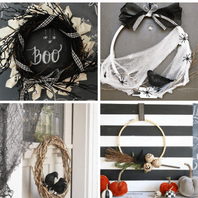 13 Easy & Not-Too-Spooky Halloween Wreaths to DIY