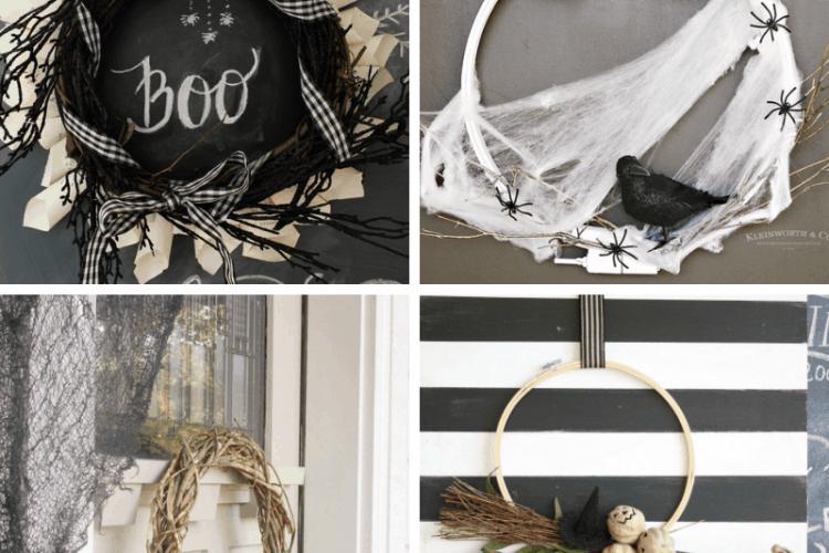 Halloween Wreaths SQUARE