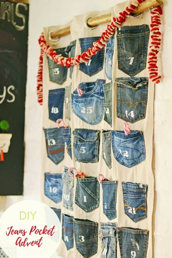 Jeans advent calendar