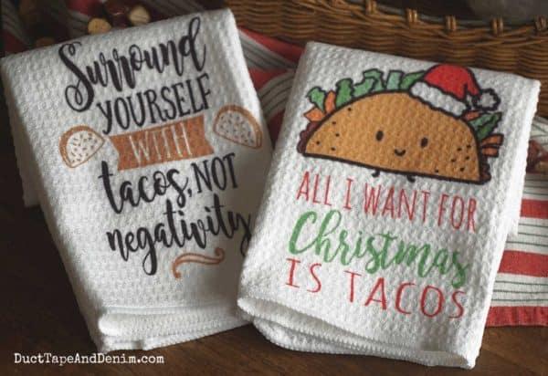 taco towels