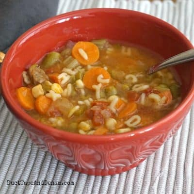 An EASY Beef Alphabet Soup Recipe Your Kids Will Love!