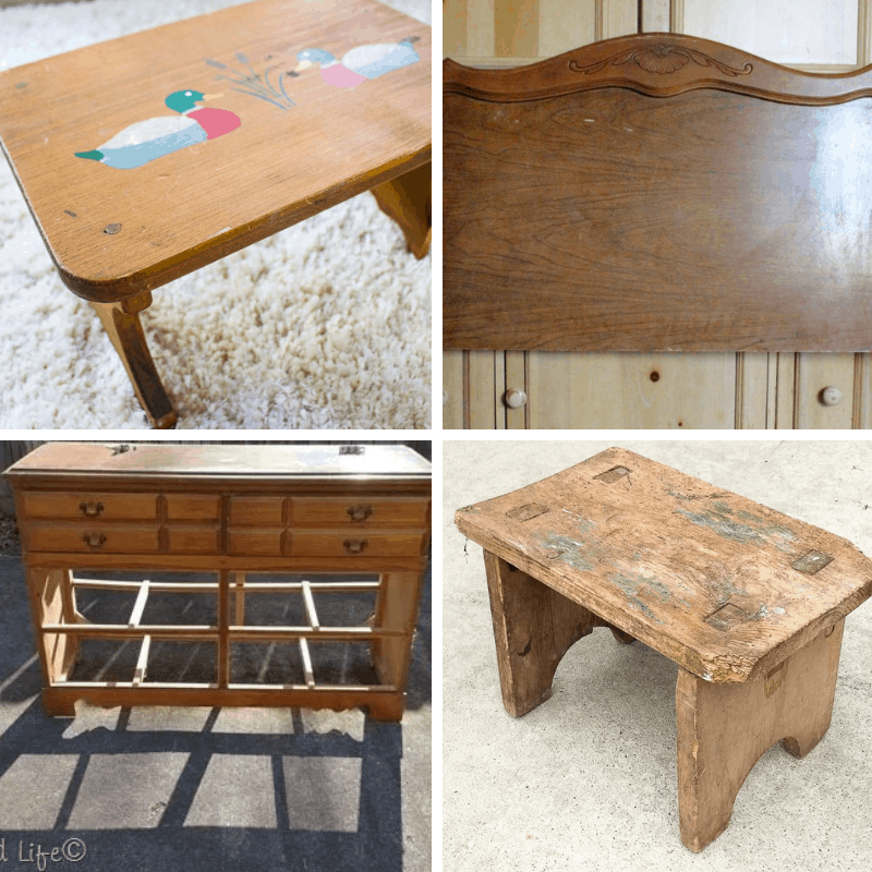 Thrift Furniture Makeovers
