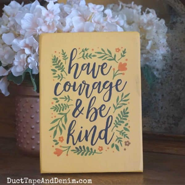 be kind chalk couture sign_SQUARE