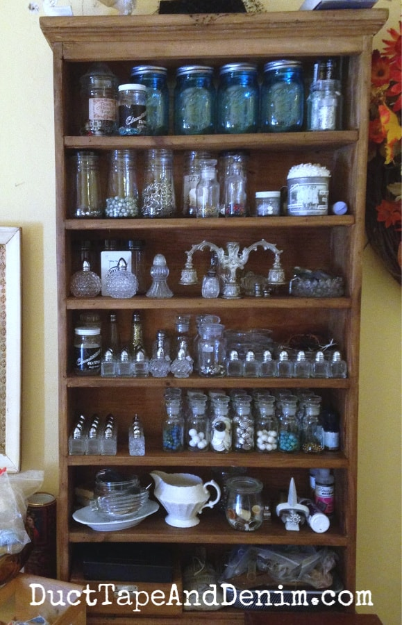 vintage craft storage ideas