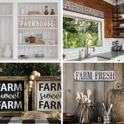 The Best Affordable Farmhouse Signs Under $50
