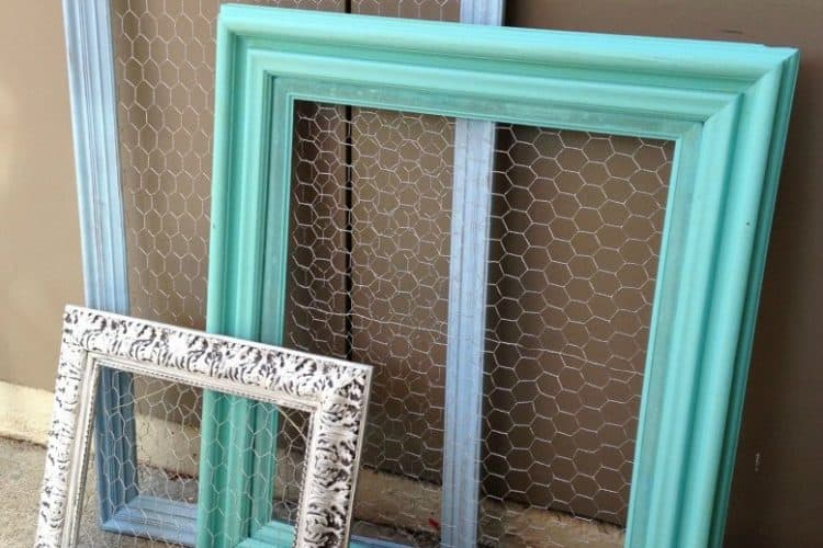 chicken wire frames SQUARE