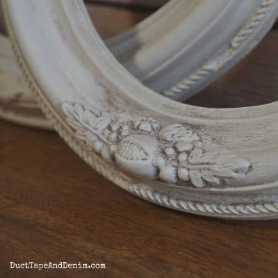 Painting Frames with Country Chic Paint and Antiquing Dust