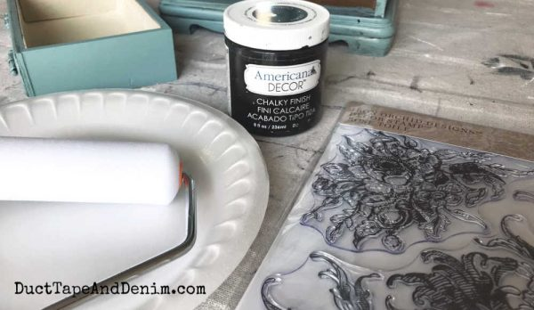 stamping with iron orchid stamps