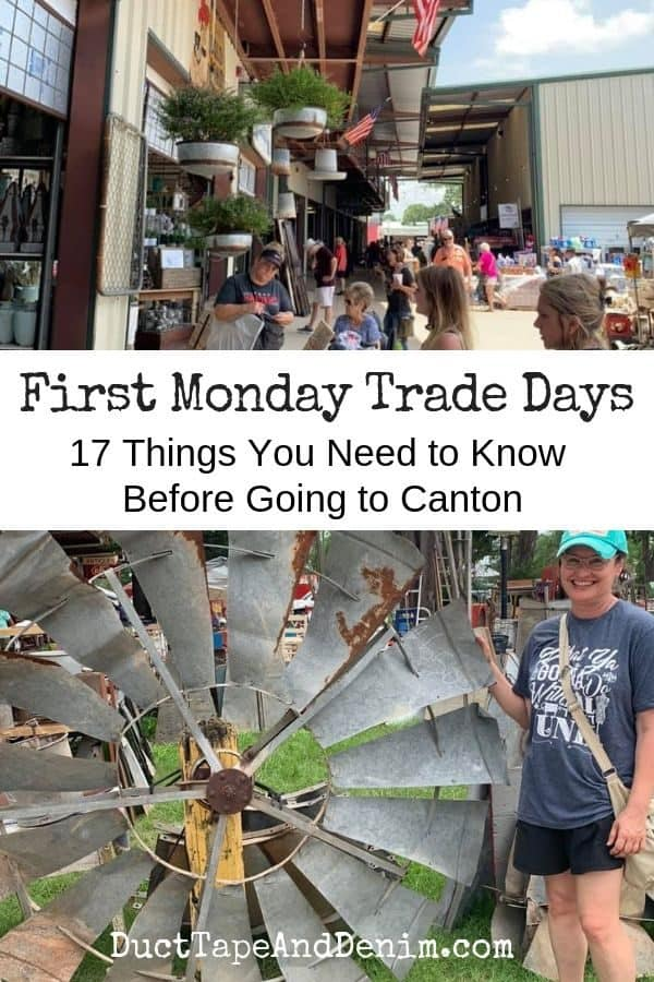first monday trade days, collage 1