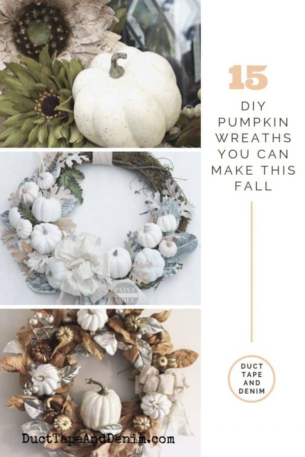 15 diy pumpkin wreaths