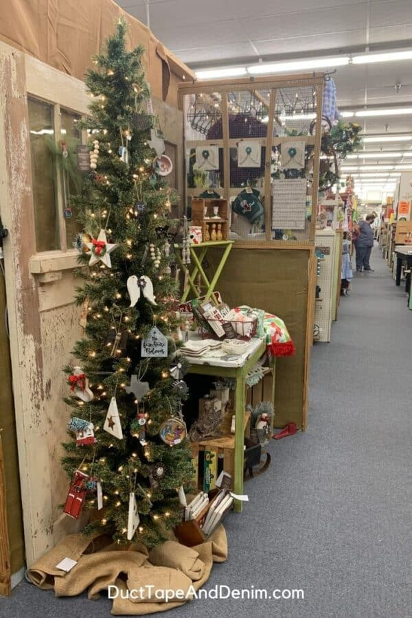 christmas booth location in Waco Christmas store