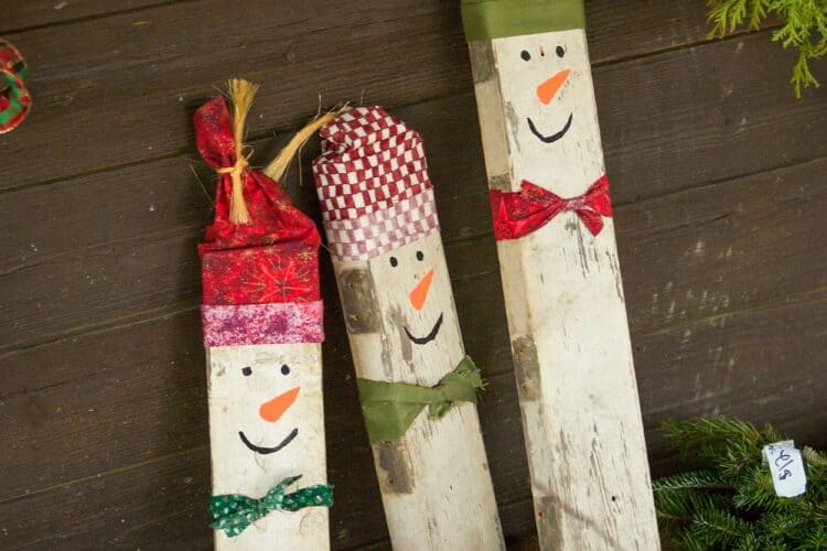 how to turn anything into a snowman SQUARE